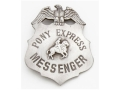 Collector&#39;s Armoury Replica Old West Deluxe Pony Express Badge