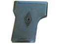 Product detail of Vintage Gun Grips Webley One Screw with Escutcheon 25 ACP Polymer Black