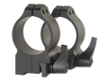 Warne 30mm Quick-Detachable Ring Mounts Ruger 77 Matte Medium