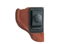 Bianchi 6 Inside the Waistband Holster Right Hand Sig Sauer P228, P229, Taurus PT-24/7 Suede Leather Natural
