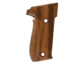 Hogue Fancy Hardwood Grips Sig Sauer P226 Goncalo Alves