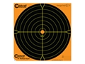 "Caldwell Orange Peel Targets 16"" Self-Adhesive Bullseye Package of 10"