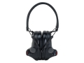 Peltor SwatTac 2 Tactical Electronic Earmuffs (NRR 20dB) Black
