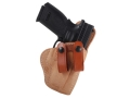 "El Paso Saddlery Summer Cruiser Inside the Waistband Holster Right Hand Springfield XD 9/40 Service 4"" Leather Natural and Russet Brown"