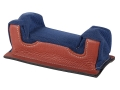 Edgewood Front Shooting Rest Bag Common Varmint Width with Extra Reinforcment Leather and Nylon Navy Blue Unfilled