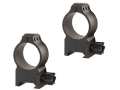 Warne 30mm Tactical Picatinny-Style Rings Matte High