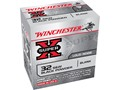 Winchester Super-X Ammunition 32 S&W Blank Black Powder Box of 50