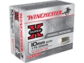 Winchester Super-X Ammunition 10mm Auto 175 Grain Silvertip Hollow Point Box of 20