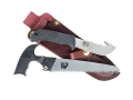 Outdoor Edge TrophyPak Trophy-Skinner Fixed Blade Hunting Knife and Kodi-Saw Combination Set