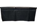 Beavertail Bale Blind Interior Hanging Mesh Pocket 600D Fabric Black