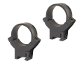 Warne 1&quot; 22 Caliber Rings Matte High