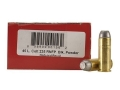 Goex Black Dawge Reduced Recoil Black Powder Ammunition 45 Colt (Long Colt) 235 Grain Lead Flat Nose Box of 50