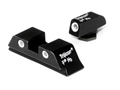 Product detail of Trijicon Night Sight Set Glock 17, 19, 22, 23, 24, 26, 27, 33, 34, 35 Steel Matte 3-Dot Tritium Green
