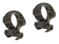 Millett 1&quot; Angle-Loc Windage Adjustable Weaver-Style Rings Engraved Gloss Medium