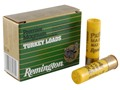 Remington Premier Magnum Turkey Ammunition 20 Gauge 3&quot; 1-1/4 oz #6 Copper Plated Shot Box of 10