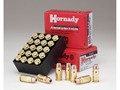 Hornady Custom Ammunition 357 Sig 124 Grain XTP Jacketed Hollow Point Box of 20