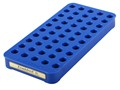 Product detail of Frankford Arsenal Perfect Fit Reloading Tray #4S 357 Sig, 40 S&W, 10mm 50-Round Blue