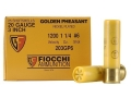 Fiocchi Golden Pheasant Ammunition 20 Gauge 3&quot; 1-1/4 oz #6 Nickel Plated Shot Box of 25
