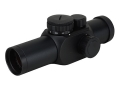 Bushnell Trophy Red Dot Sight 30mm Tube 1x 4-Pattern Reticle (3 MOA Dot, 10 MOA Dot, Crosshair, and Circle with 3 MOA Dot) with Weaver-Style Rings Matte
