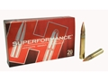 Hornady SUPERFORMANCE Ammunition 375 H&H Magnum 250 Grain Gilding Metal Expanding Boat Tail Box of 20