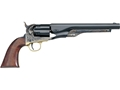 "Uberti 1860 Army Steel Frame Black Powder Revolver with Brass Triggerguard 44 Caliber 8"" Barrel Charcoal Blue"