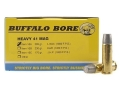 Product detail of Buffalo Bore Ammunition 41 Remington Magnum 265 Grain Lead Wide Long Nose