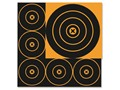 "Birchwood Casey Big Burst BB8 Bullseye Target Pack of 18 (3-8"" and 15-4"")"