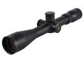 Sightron SIII Tactical Rifle Scope 30mm Tube 3.5-10x 44mm 1/10 MIL Adjustments Side Focus Mil-Dot Reticle Matte