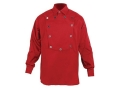 "WahMaker Cavalry Bib Shirt Long Sleeve Cotton Red Medium (40"")"