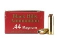 Product detail of Black Hills Ammunition 44 Remington Magnum 240 Grain Jacketed Hollow Point Box of 50