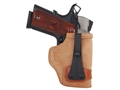 Galco Tuck-N-Go Inside the Waistband Holster Right Hand S&W M&P Compact 9, 40 Leather Brown