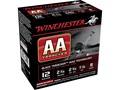 """Winchester AA Light TrAAcker Ammunition 12 Gauge 2-3/4"""" 1-1/8 oz #8 Shot Black Wad Box of 25"""
