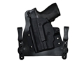 Comp-Tac MERC Inside the Waistband Holster Smith & Wesson M&P Shield  Laser Kydex and Leather