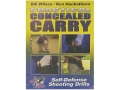 Gun Video &quot;Practical Concealed Carry with Bill Wilson &amp; Ken Hackathorn&quot; DVD