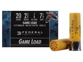 "Federal Game-Shok Field Load Ammunition 20 Gauge 2-3/4"" 7/8 oz #7-1/2 Shot Box of 25"