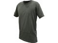 Military Surplus Crew T-Shirt Grade 1 Short Sleeve Cotton 3-Pack Foliage Green Medium