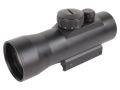 Barska Red Dot Sight 30mm Tube 2x 5 MOA Dot with Integral Weaver-Style Mount Matte