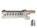 Lee 6-Cavity Bullet Mold 452-228-1R 45 ACP, 45 Auto Rim, 45 Colt (Long Colt) (452 Diameter) 228 Grain 1 Ogive Radius