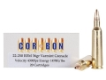 Cor-Bon Self-Defense Ammunition 22-250 Remington 36 Grain Barnes Varmint Grenade Hollow Point Flat Base Lead-Free Box of 20