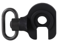 GG&amp;G Quick Detach End Plate Sling Mount Adapter with Heavy Duty Quick Detach Swivel Mossberg 500, 590 12 Gauge Left Hand Aluminum Matte