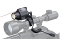 Walther NightHunter Laser Sight and Flashlight White Xenon Bulb with 1&quot; Accesory Ring Matte