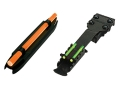 HIVIZ Sight Set Mossberg, Winchester Shotguns Fiber Optic Green Rear, Interchangeable Red & Green Front