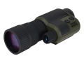 Bushnell Night Watch 1st Generation Night Vision Monocular 4x 50mm Waterproof Rubber Armored Green and Black