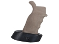 ERGO Tactical Deluxe Sure Grip Pistol Grip with Palm Shelf AR-10, LR-308 Overmolded Rubber Dark Earth