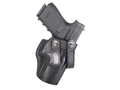 Galco Summer Comfort Inside the Waistband Holster Right Hand Glock 17, 22, 31 Leather Black