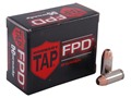 Product detail of Hornady TAP Personal Defense Ammunition 40 S&W 155 Grain Jacketed Hollow Point Box of 20