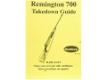 Radocy Takedown Guide &quot;Remington 700&quot;
