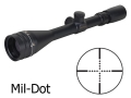Product detail of Sightron SII Rifle Scope 4-16x 42mm Adjustable Objective Mil-Dot Reticle Matte