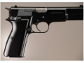 Hogue Extreme Series Grip Browning Hi-Power Brushed Aluminum Gloss Black