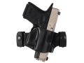 Galco M7X Matrix Belt Slide Holster Left Hand 1911 Government, Commander, Officer, Defender, Springfield EMP Polymer Black